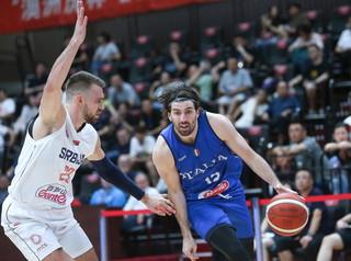 Nel primo appuntamento del Torneo AusTiger a Shenyang, in Cina, l'Italia di Meo Sacchetti viene sconfitta dalla Serbia 71-65 al termine di una s...