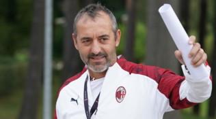 """Milan, Giampaolo in conferenza: """"I nuovi sono indietro, voglio una squadra competitiva"""""""