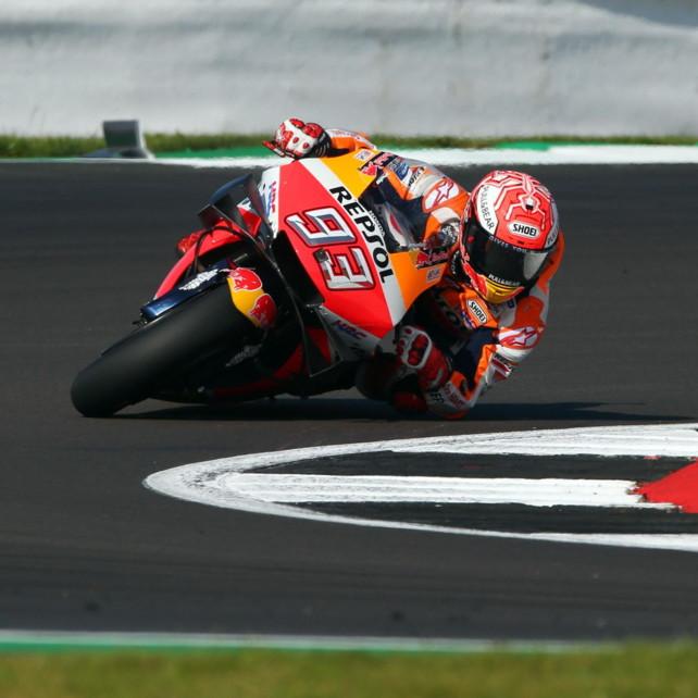 MotoGP Gran Bretagna:la pole è ancora di Marquez, Rossi 2°