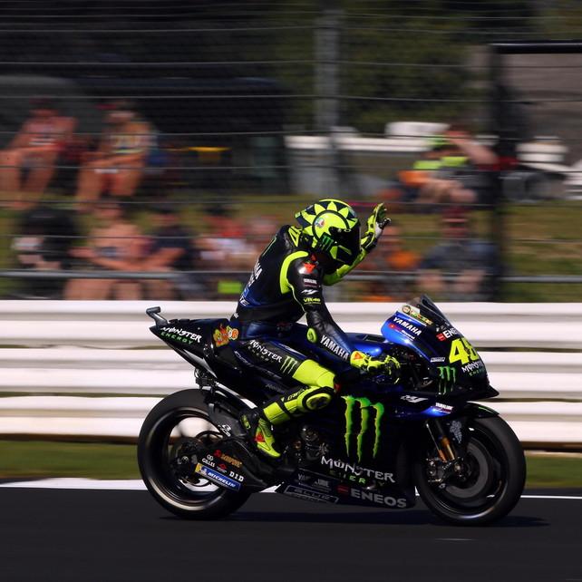"""MotoGP Gran Bretagna, Rossi: """"Risultato fondamentale, ora voglio il podio"""""""
