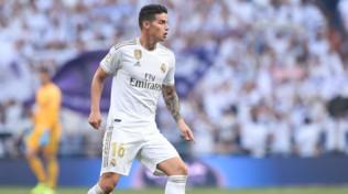 """Real, James Rodriguez: """"Una sensazione unica tornare al Bernabeu"""""""