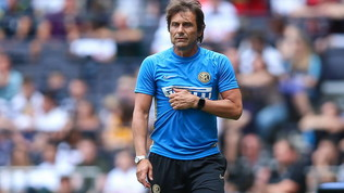"""Inter, Conte sfida Juve e Napoli: """"La rincorsa è iniziata"""""""