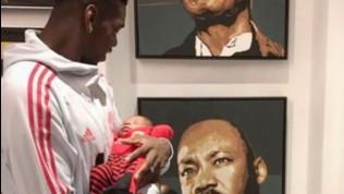 Pogba, il post anti-razzista con il figlio commuove il web