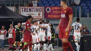 Roma-Genoa: la fotostoria del match
