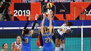 Volley, Europei femminili: l'Italia fa il suo, Ucraina battuta 3-0