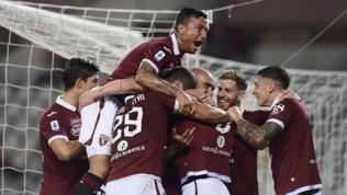 Serie A: il Torino stende il Sassuolo, il Brescia è corsaro a Cagliari, Verona e Bologna pareggiano