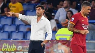 """Roma, Fonseca: """"Dobbiamo migliorare la fase difensiva"""""""