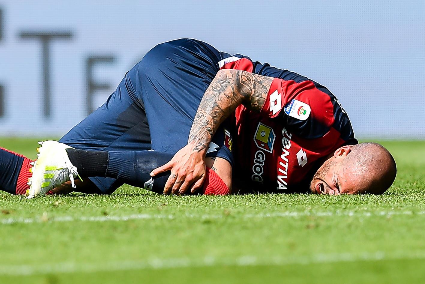 Stefano Sturaro, centrocampista del Genoa: infortunio al crociato, rientro a ottobre