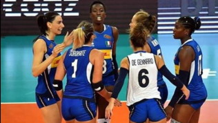 Volley, Europei femminili: l'Italia è un rullo compressore, Belgio battuto in tre set