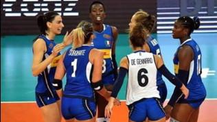 Volley, Europei femminili: l'Italia è un rullo compressore, Belgio battuto in tre set