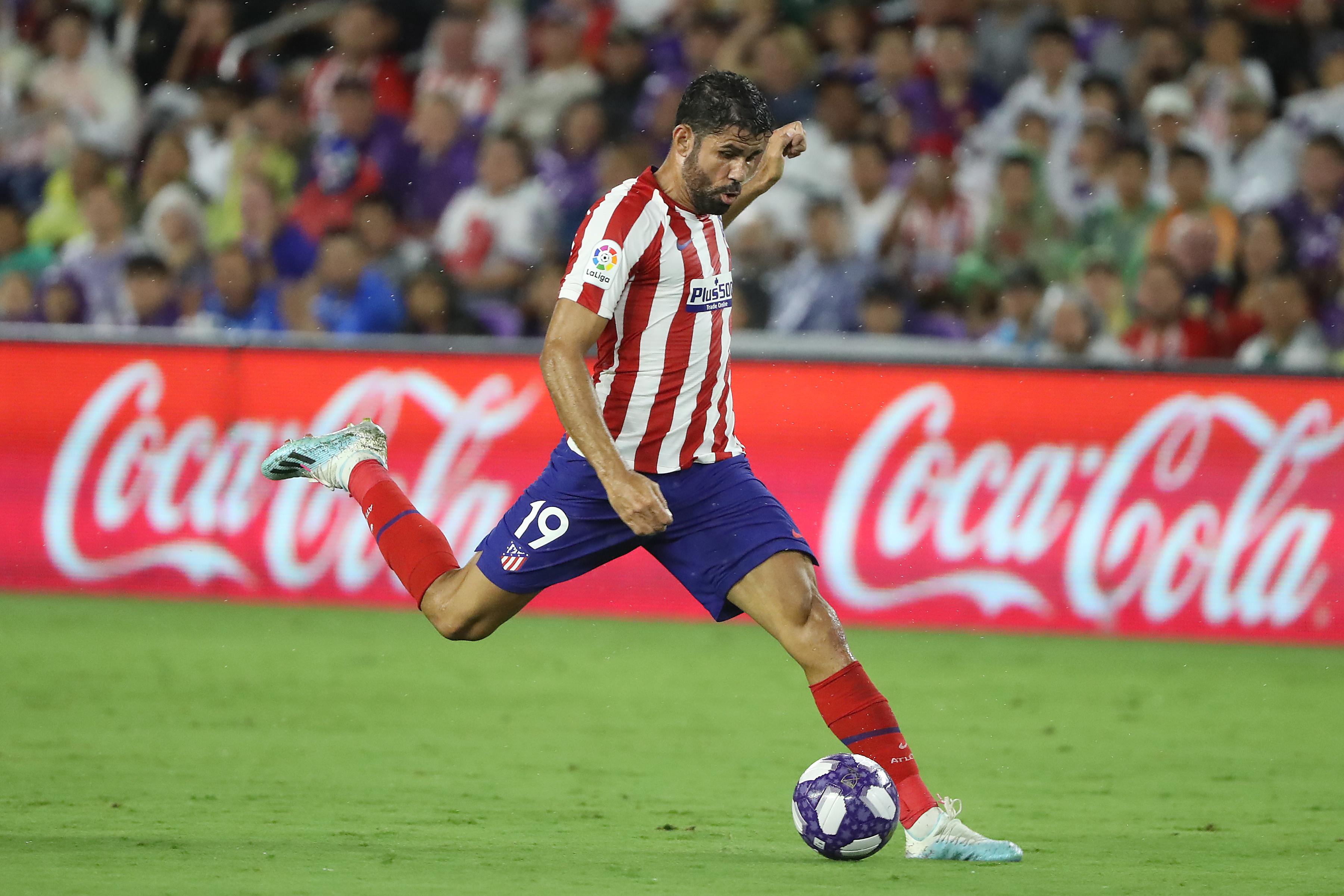 Diego Costa, attaccante dell'Atletico Madrid: infortunio all'inguine, data incerta