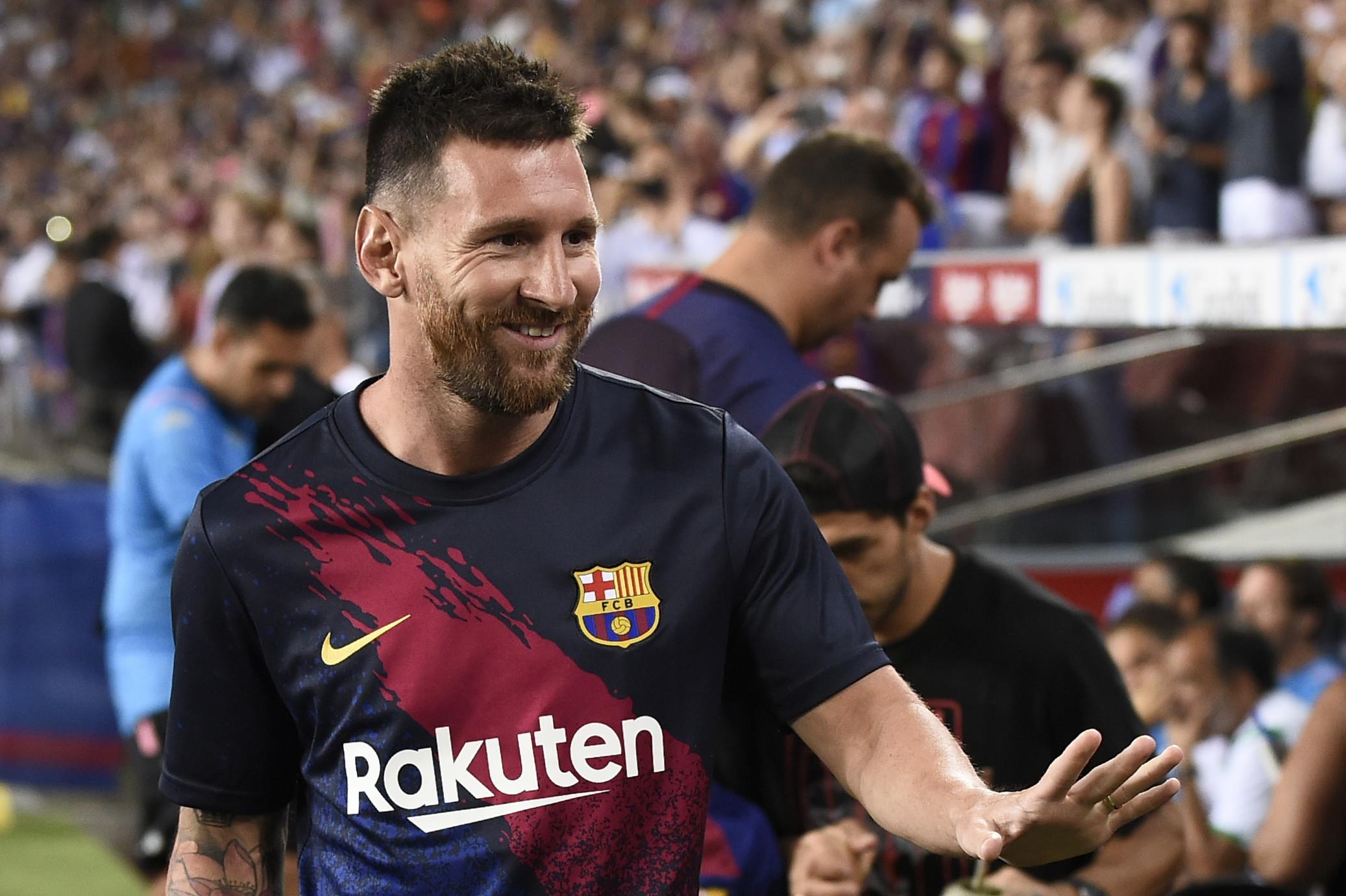 Leo Messi, attaccante del Barcellona: infortunio al piede, rientro incerto