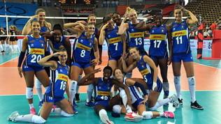 Europei femminili volley: Italia-Belgio 3-0