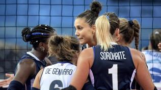 Volley, Europei femminili: l'Italia parte piano, poi schiaccia la Slovenia
