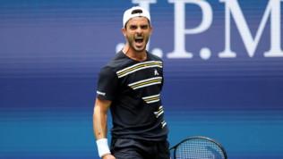 Tennis, Us Open: magico Fabbiano, abbatte Thiem! Bene Berrettini e Sonego, fuori Cecchinato