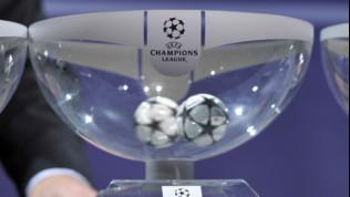 Champions, l'attesa è finita: oggi il sorteggio dei gironi