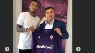 """Fiorentina, ecco Dalbert: """"Sono felice di essere qui"""""""