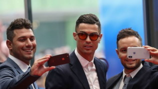 Champions League, calciatori e vip al sorteggio dei gironi