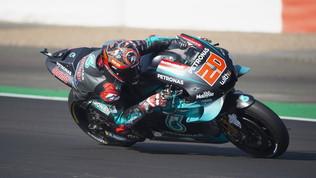 MotoGP, test Misano: Quartararo davanti a tutti, Rossi quinto