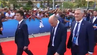 Inter, la dirigenza sfila a Montecarlo