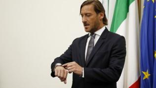 """Roma, Totti: """"Lazio? I favoriti perdono sempre"""""""