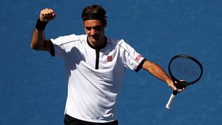 Tennis, US Open: Federer batte Evans e vola agli ottavi