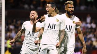 Ligue 1: rigore di Di Maria e Choupo-Moting, Psg ok anche senza le stelle