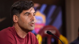 """Roma, Fonseca: """"Derby gara speciale. Lazio favorita? Vale solo il campo"""""""