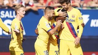 Barcellona,Ansu Fati da record: in gol a 16 anni e 304 giorni, le foto