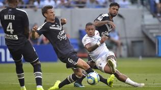 Ligue 1: il Lione manca l'aggancio al Psg, con il Bordeaux è 1-1