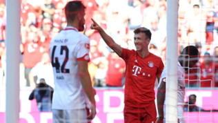 Bayern Monaco, primo gol per Perisic