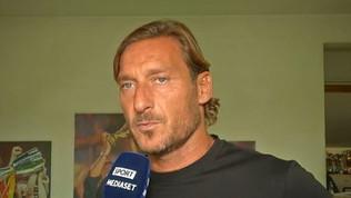"""Roma, Totti: """"Spero che il derby vada come ogni romanista spera"""""""