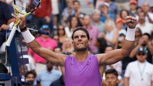 Tennis, US Open: Nadal stende Chung e passa agli ottavi