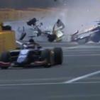 F2, Correa ha rischiato di perdere le gambe