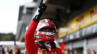 """F1 Belgio, Leclerc commosso: """"Dedicata al mio amico Anthoine"""""""