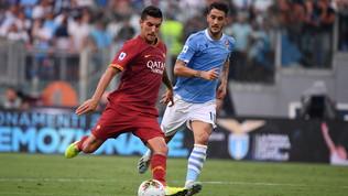"""Serie A, Lazio-Roma 1-1: Luis Alberto riacciuffa Kolarovnella """"sagra del palo"""""""