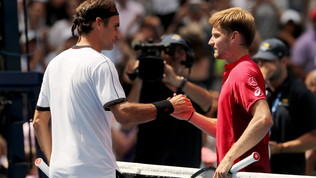 Tennis, US Open: Federer è perfetto e va ai quarti, Goffin steso in tre set