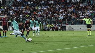 Serie A, Cagliari-Inter 1-2: decidono Lautaro e Lukaku