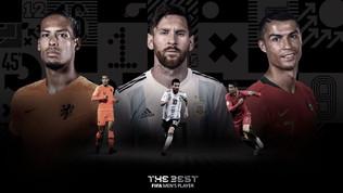 Best Fifa Awards, Van Dijk sfida Messi e CR7. Miglior portiere e allenatore,ecco i candidati