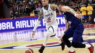 Mondiali basket, il cuore dell'Italia non basta: la Serbia vince 92-77