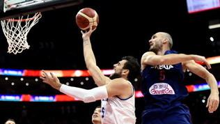 Basket, Mondiali: Serbia troppo forte, l'Italia si inchina 92-77