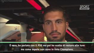 """Juve, Emre Can: """"Io fuori dalla lista Champions: sono scioccato"""""""