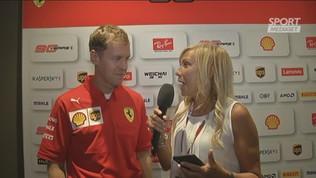 """Ferrari, Vettel: """"A Monza è sempre un'emozione"""""""