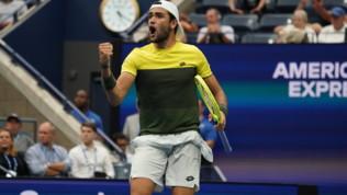 Tennis, US Open: Berrettini vince la battaglia con Monfils e vola in semifinale