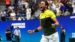 US Open, Berrettini nella storia: tutti i volti della felicità