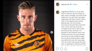 "Hull City,MacDonaldshock: ""Ho il cancro, sono pronto a lottare"""