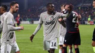 """Juve, Matuidi sta con Lukaku: """"Anche io vittima del razzismo a Cagliari"""""""