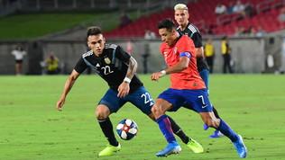"""Cile-Argentina 0-0, l'attacco """"italiano"""" non fa gol"""