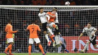 Qualificazioni Euro 2020, Germania-Olanda stasera in diretta su Canale 20 e in streaming sul sito alle ore 20.45