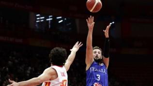 Mondiali basket, l'Italia si arrende alla Spagna 60-67